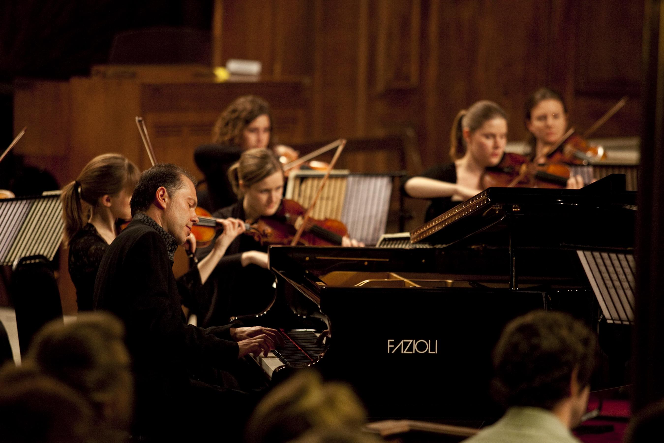 PIANO TRIO WITH ORCHESTRA - Dominic Alldis