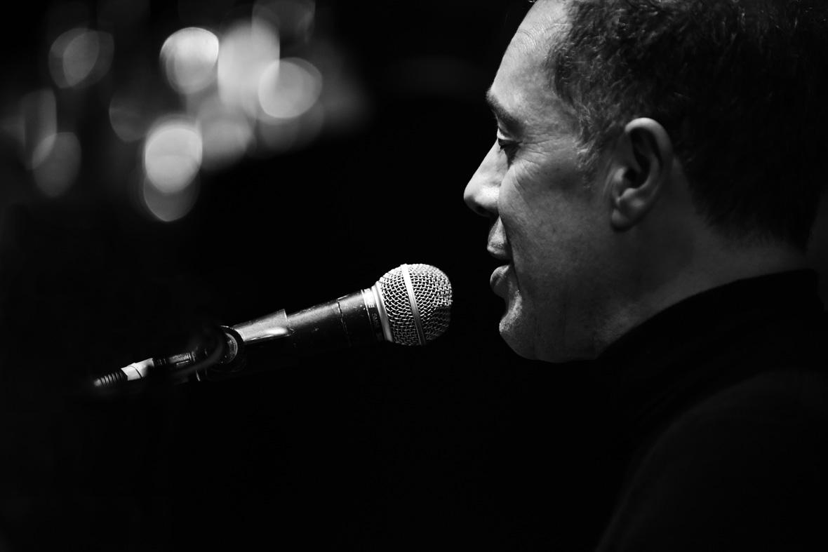 Dominic Alldis jazz singer