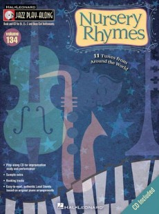 Nursery Rhymes: Jazz Play-Along Volume 134, by Dominic Alldis